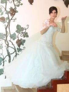 שמלת כלה צנועה קלאסית