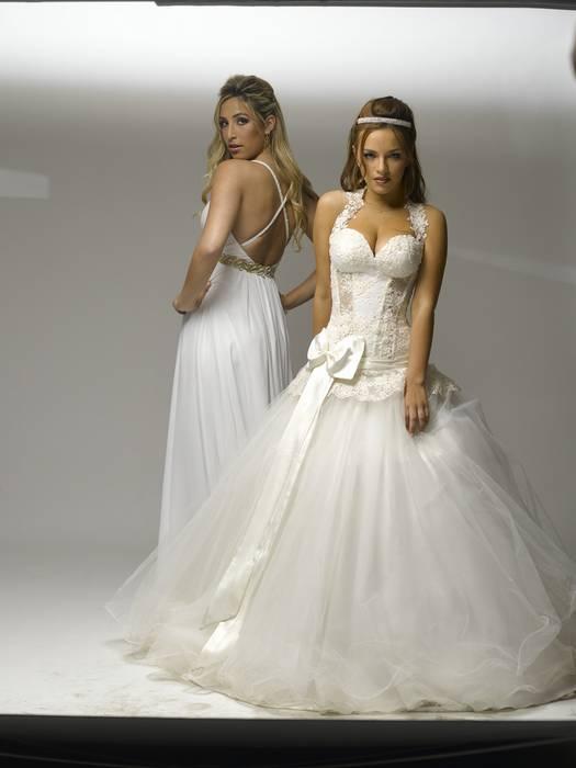 שמלות כלה חשופות