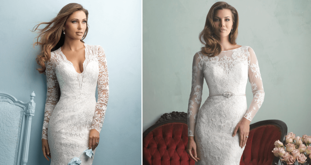 שמלות כלה עם שרוול ארוך