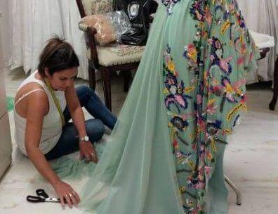 שמלת ערב בעיצוב אישי