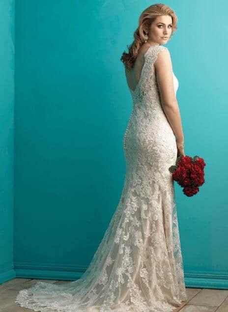שמלת כלה לורן - מידה גדולה