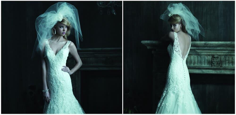 שמלת כלה עם מחשוף רנה