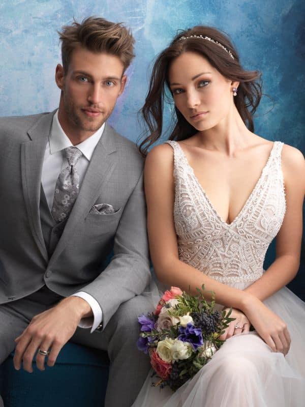 שמלת כלה בגיזרה צמודה