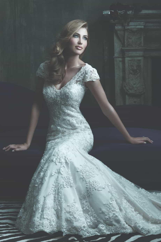 שמלת כלה רומנטית מתחרה