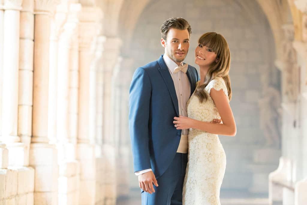 שמלת כלה לבנה תחרה