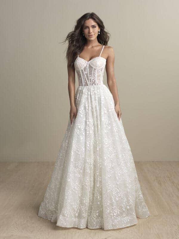 שמלת כלה מחוך תחרה