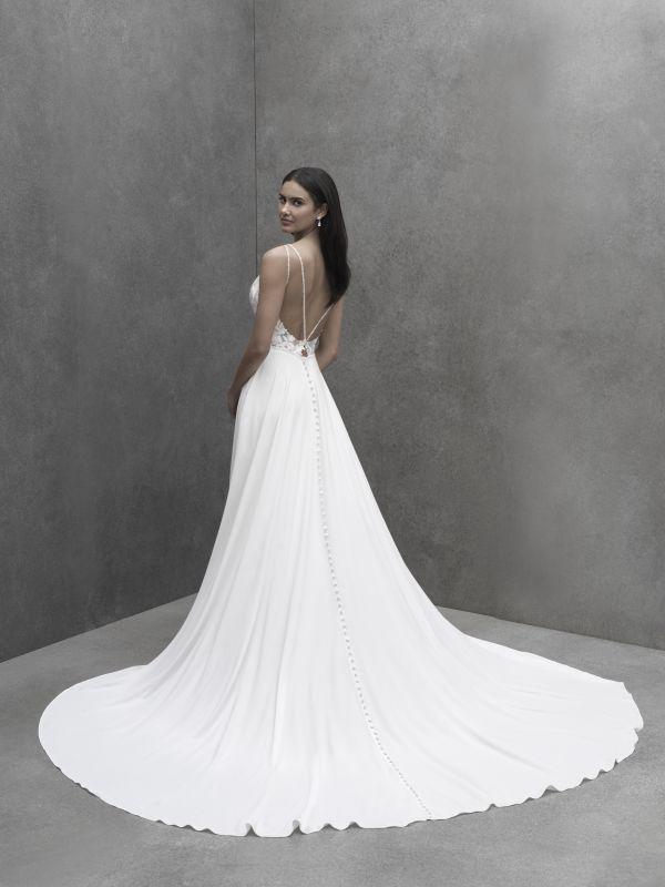 שמלת כלה אלגנטית קלאסית