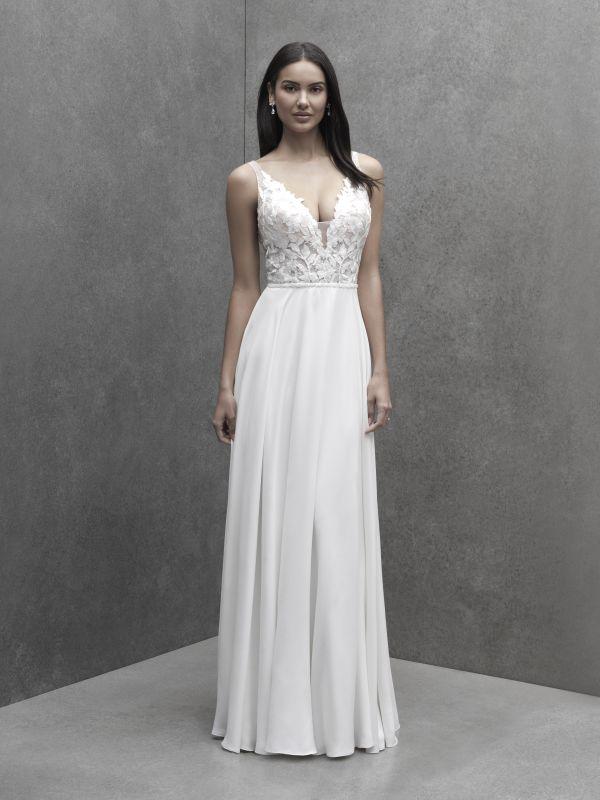 שמלת כלה בגזרת A