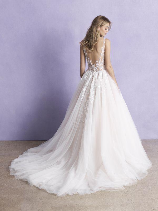 שמלת כלה חצאית נפוחה