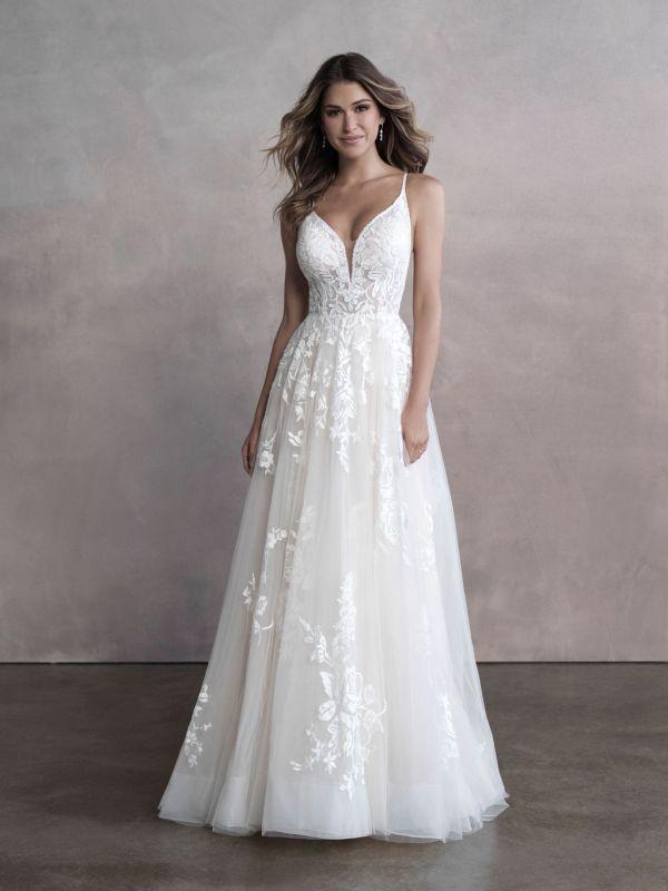 שמלת כלה רומנטית אלגנטית