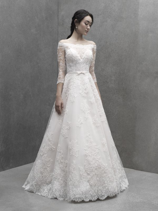 שמלת כלה תחרה קלאסית